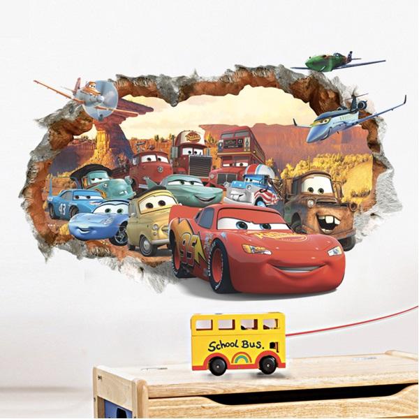 Nálepky na stenu Cars II