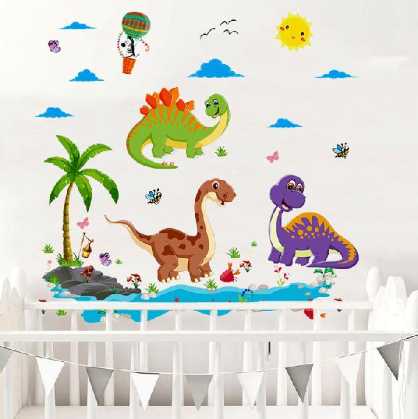 Nálepky na stenu - Dinosaury svet