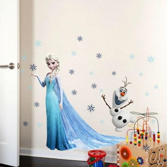 Nálepky na stenu Frozen