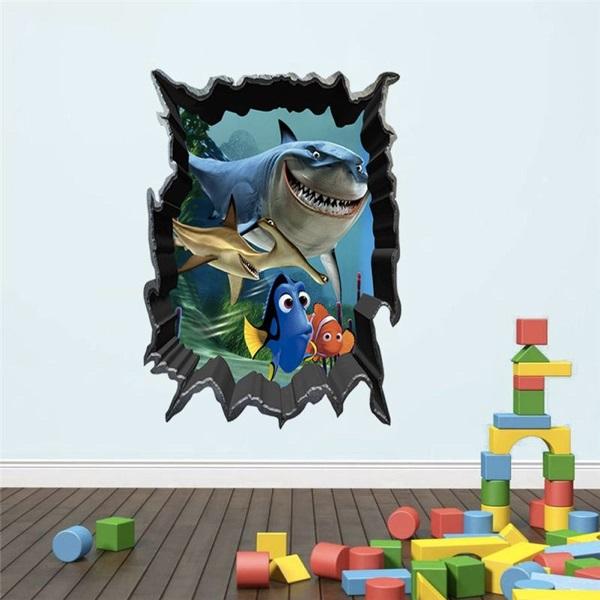 Nálepky na stenu Hľadá sa Nemo