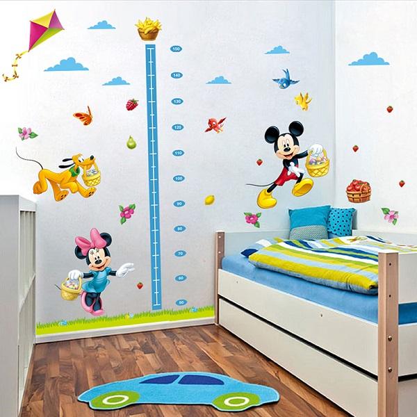 Nálepky na stenu - Mickey Mouse meter