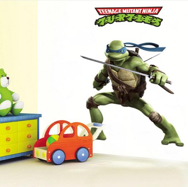 Nálepky na stenu Ninja korytnačky