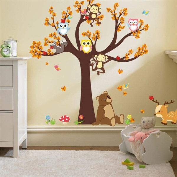 Nálepky na stenu strom