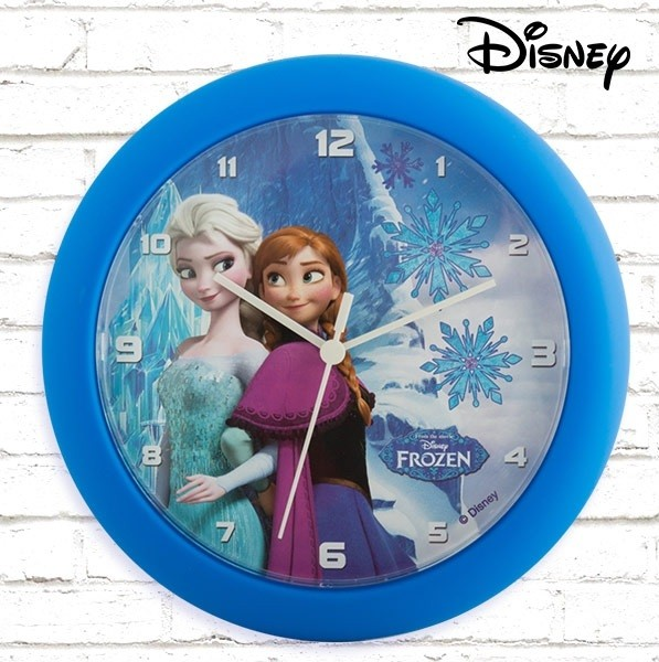 Nástenné hodiny - Ľadové kráľovstvo