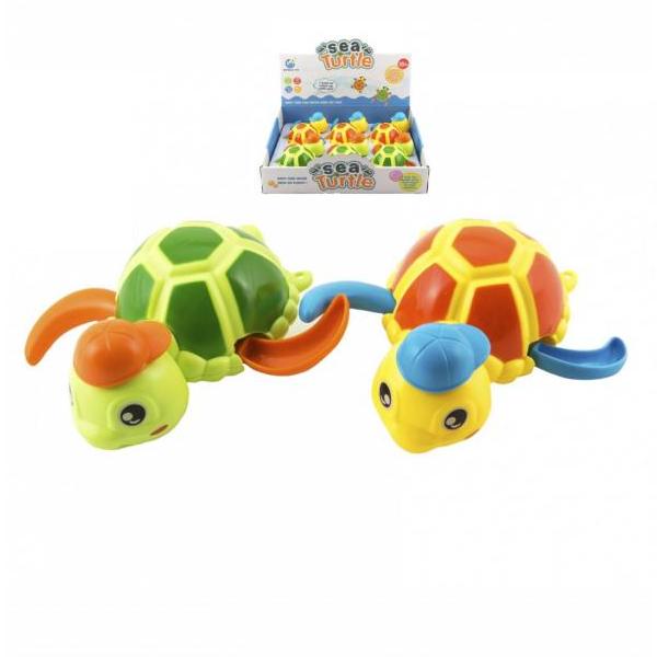 Naťahovacia korytnačka do vody so šiltovkou