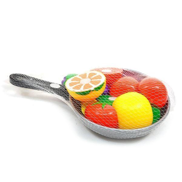 Panvica s ovocím a zeleninou na krájanie