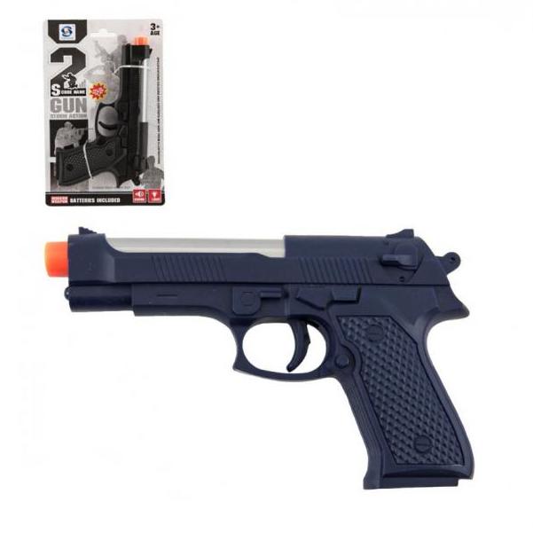 Pištoľ so svetlom a zvukom 17 cm