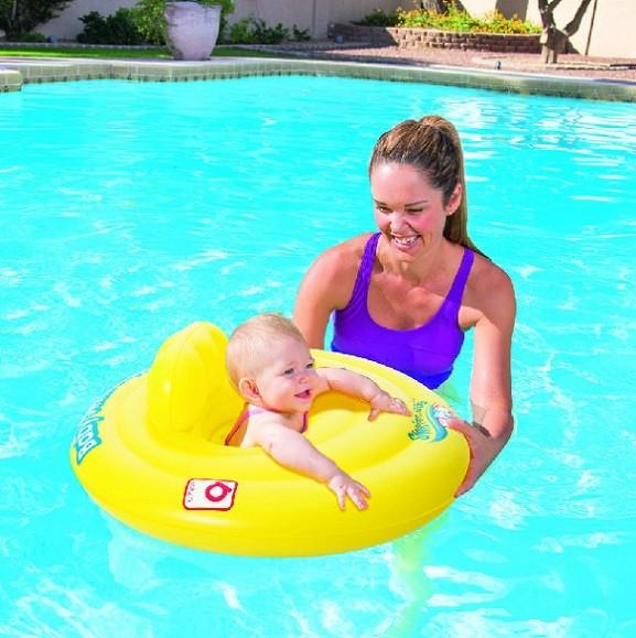 Plávacie koleso pre bábätka Bestway 32096