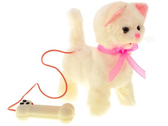 Plyšová chodiaca mačka