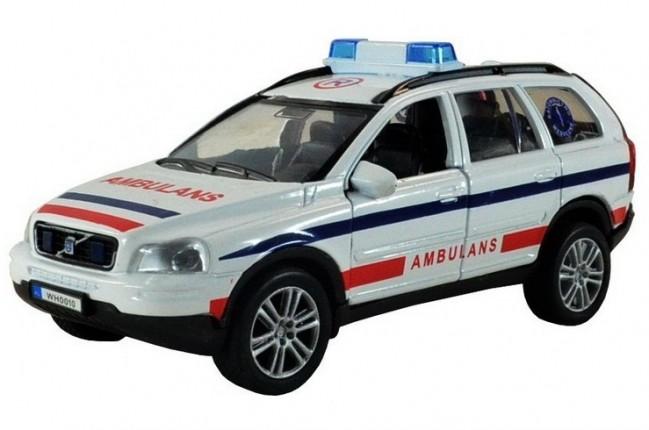 Pohotovostná sanitka Volvo