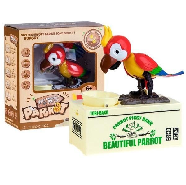 Pokladnička Interaktívny papagáj