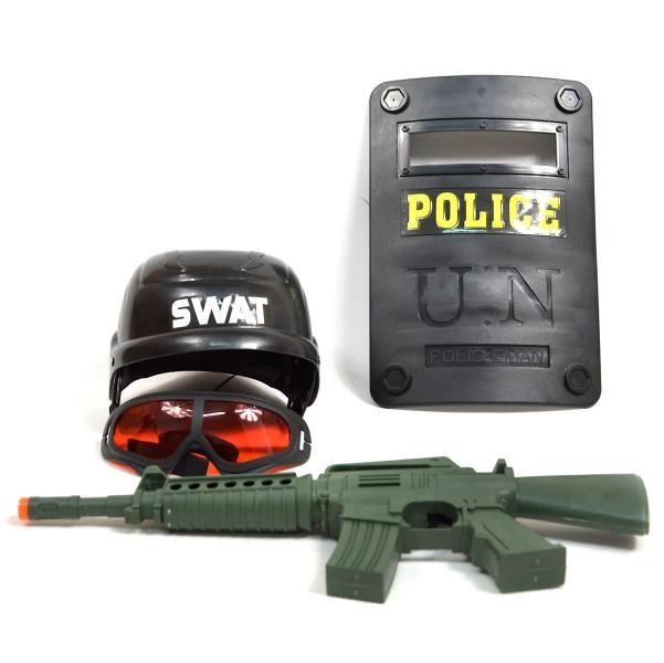 Policajná súprava so štítom