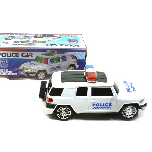 Policajné auto na batérie
