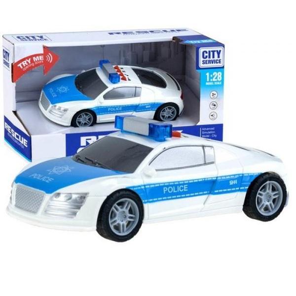 Policajné auto so svetlom a zvukom