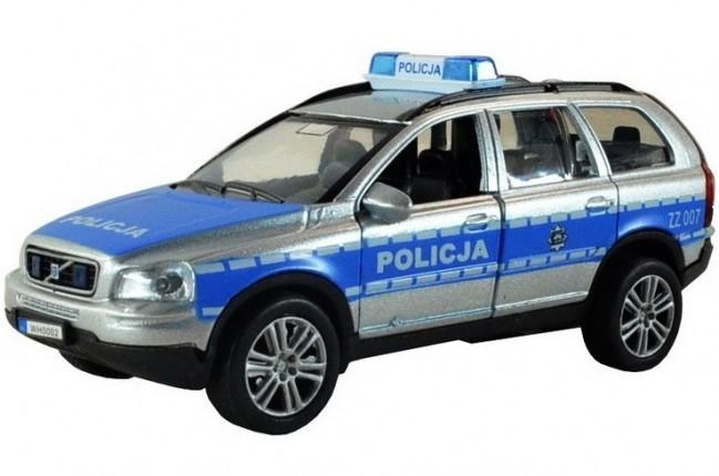 Policajné auto Volvo XC90