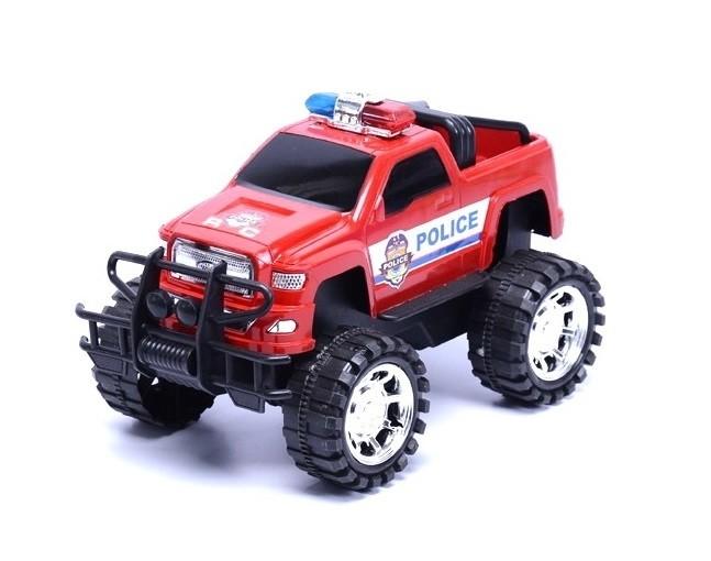 Policajné terénne auto Jeep