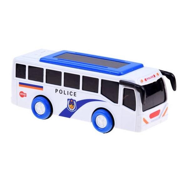 Policajný autobus so svetlom a zvukom