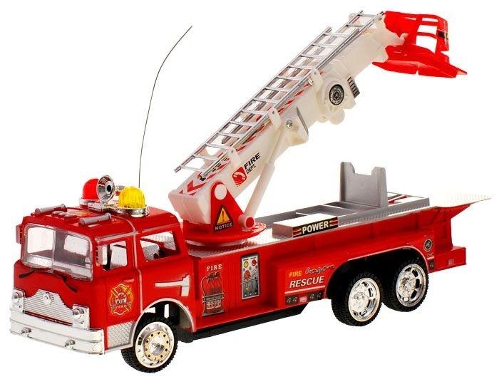Požiarnické auto na diaľkové ovládanie R/C