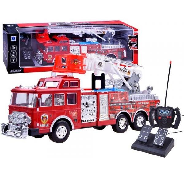 Požiarnické auto R/C so svetlom a zvukom