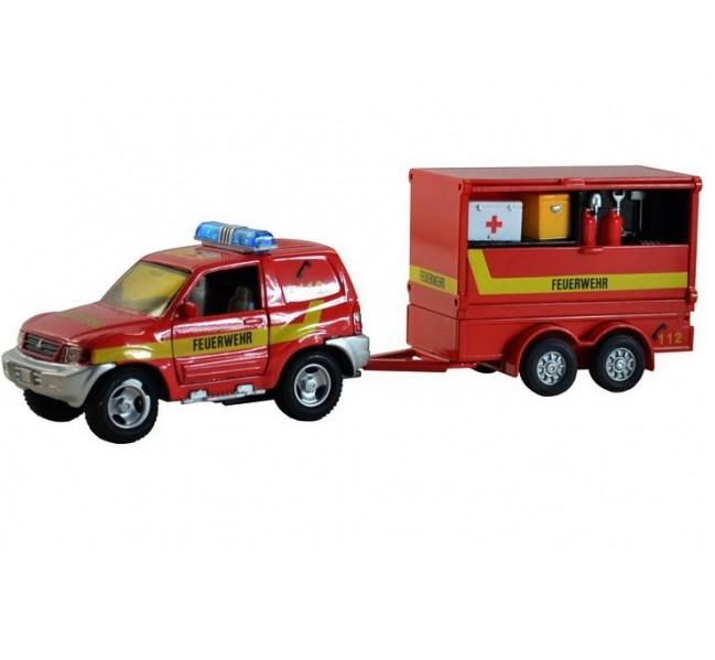 Požiarnické pohotovostné auto