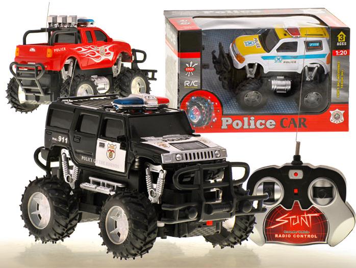 RC policajné terénne auto