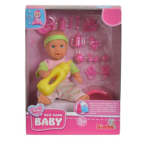Bábika Mini New Born Baby Simba
