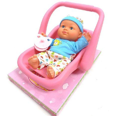 Bábika v nosidielku 18 cm