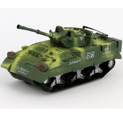 Bojový tank na zotrvačník