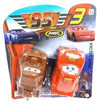 CARS sada 2 aut skladaných z kociek