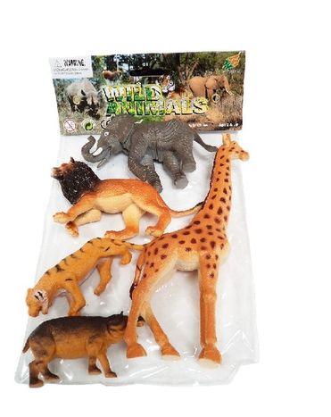 Divoké zvieratá - sada 5 ks