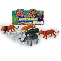 Divoké zvieratá - sada 6 ks