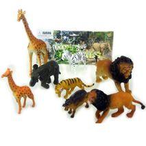 Divoké zvieratá - sada 8 ks