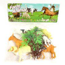 Domáce zvieratá na farme 8 ks