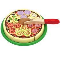 Drevená pizza na krájanie