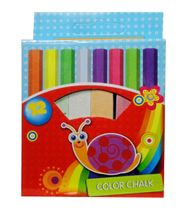 Farebné kriedy 12 ks