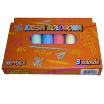 Farebné kriedy 8 ks