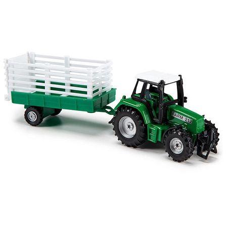 Farmársky traktor 18 cm s vlečkou