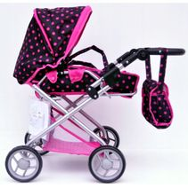 Hlboký kočík pre bábiky Baby Mix 9379-M1218