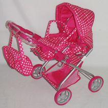 Hlboký kočík pre bábiky Baby Mix 9379-M1422