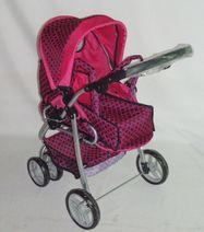 Hlboký kočík pre bábiky Baby Mix 9661-M1509