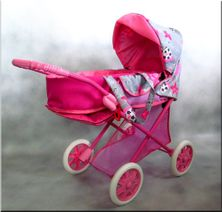 Hlboký kočík pre bábiky Iga Lux
