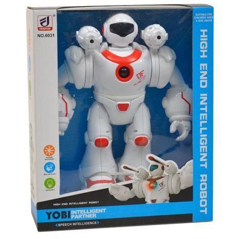 Interaktívny robot na batérie