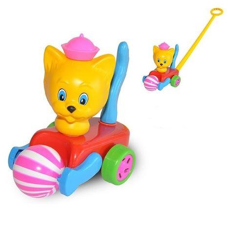 Mačička s loptou