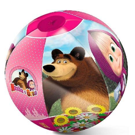 Nafukovacia lopta Máša a medveď