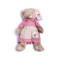 Plyšová medvedica Viktória 30 cm