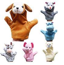 Plyšové bábky na ruku - zvieratká