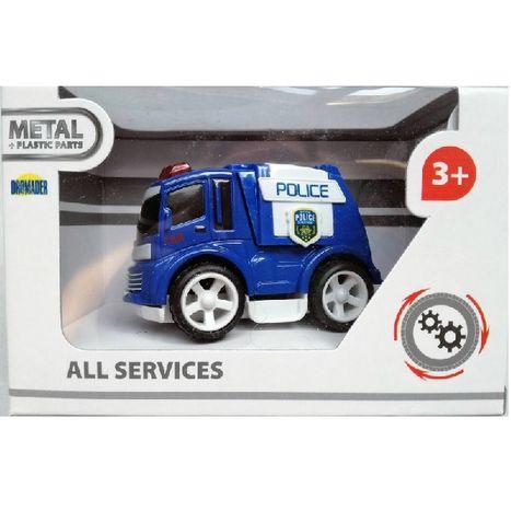 Policajné auto 8 cm