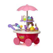 Predajný vozík so zmrzlinou