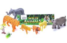 Sada divokých zvierat 6 ks