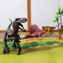Zvieratá dinosaury - sada s podložkou
